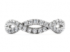 HOF Envelop Split Shank Eternity Band