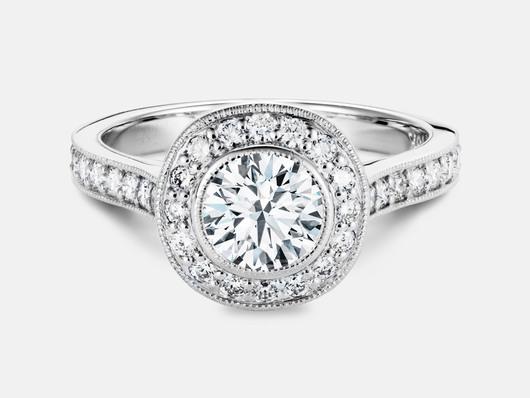 round brilliant Cut Diamond Goodman's Jewelers