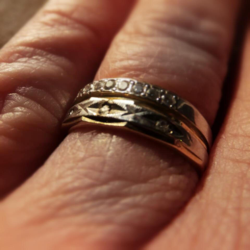 Broken Up Keep Engagment Ring
